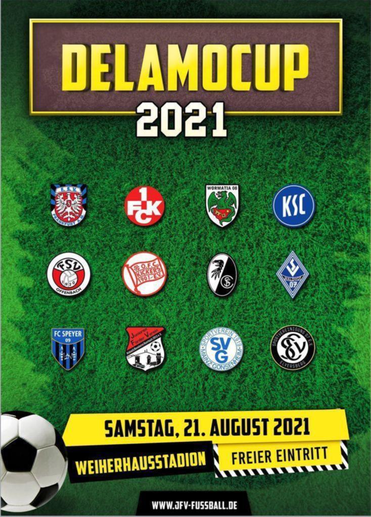 Delamo B-Jugend Cup am 21.8.21 im Weiherhausstadion